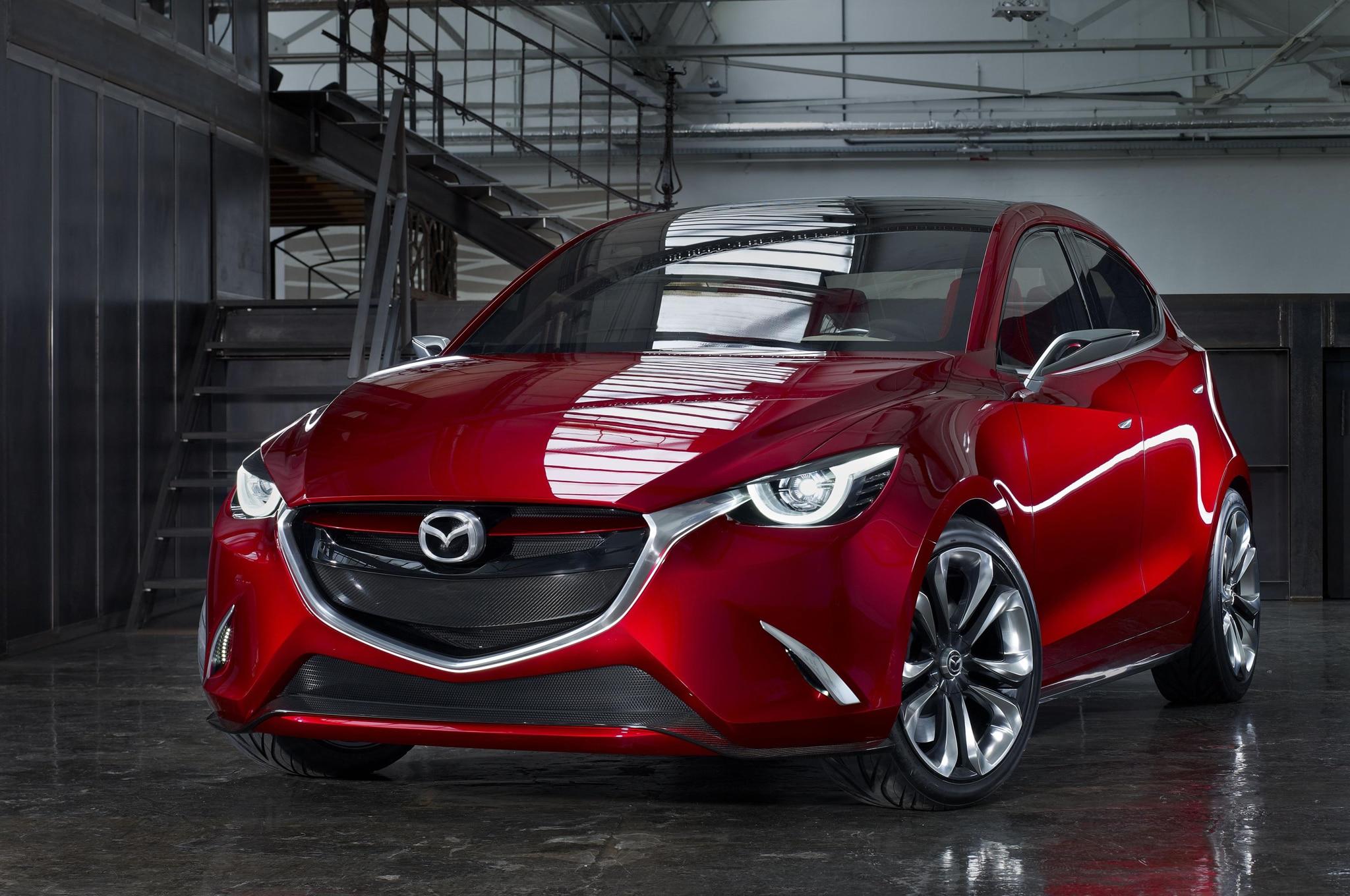 Mazda Hazumi Concept Front Three Quarters 021