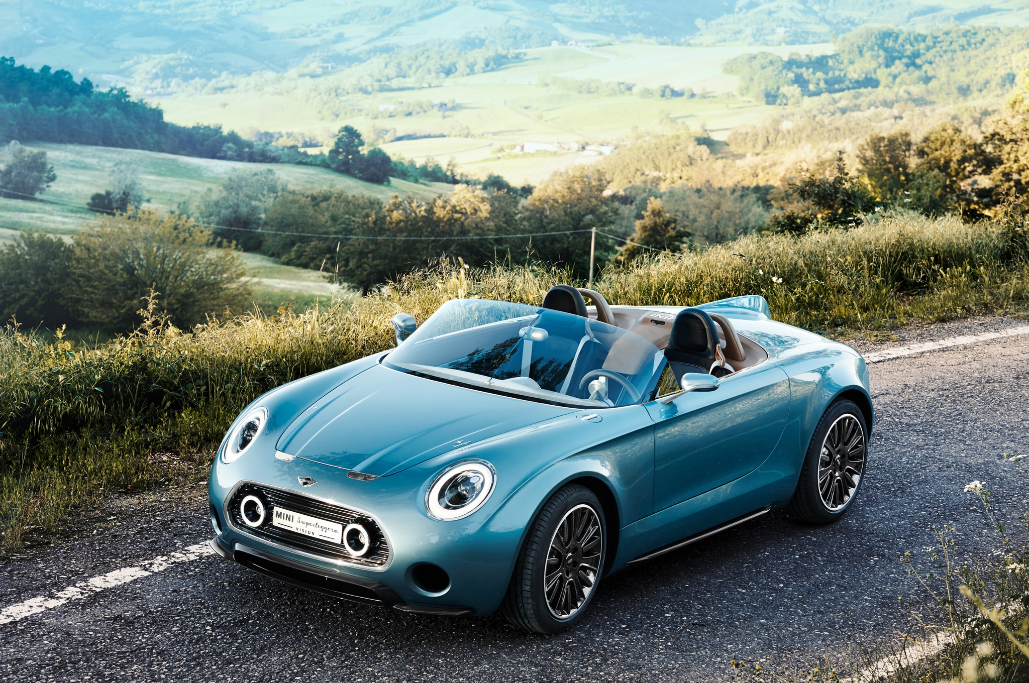 Mini Superleggera Vision Concept Front Three Quarters 02
