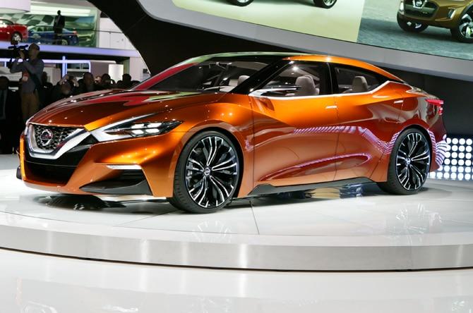 Nissan Sport Sedan Concept Homepage