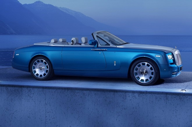 Rolls Royce Phantom Drophead Coupe Waterspeed Collection Front Side View1 660x438