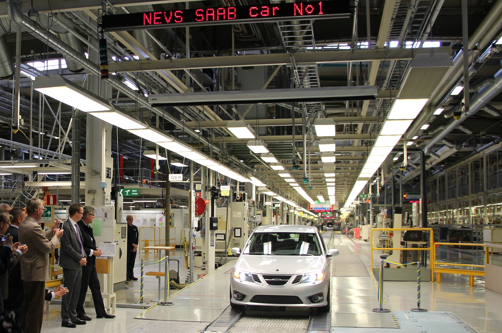 Saab 9 3 Production Line1