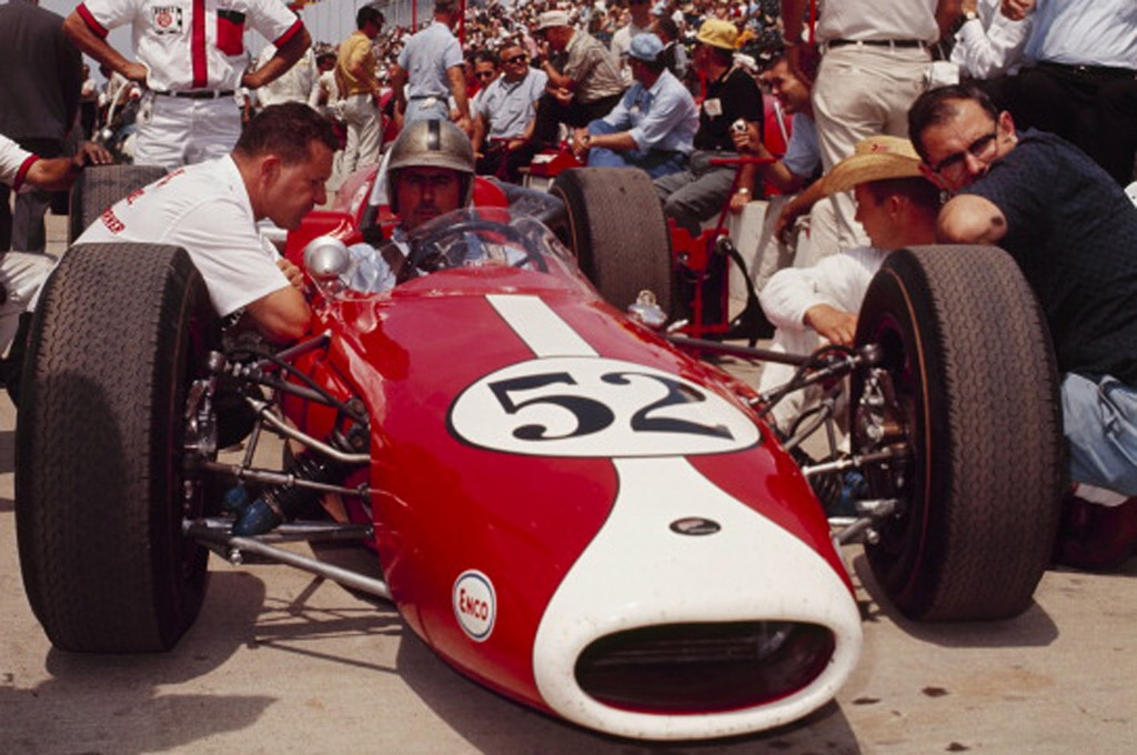 Sir Jack Brabham At Starting Grid1