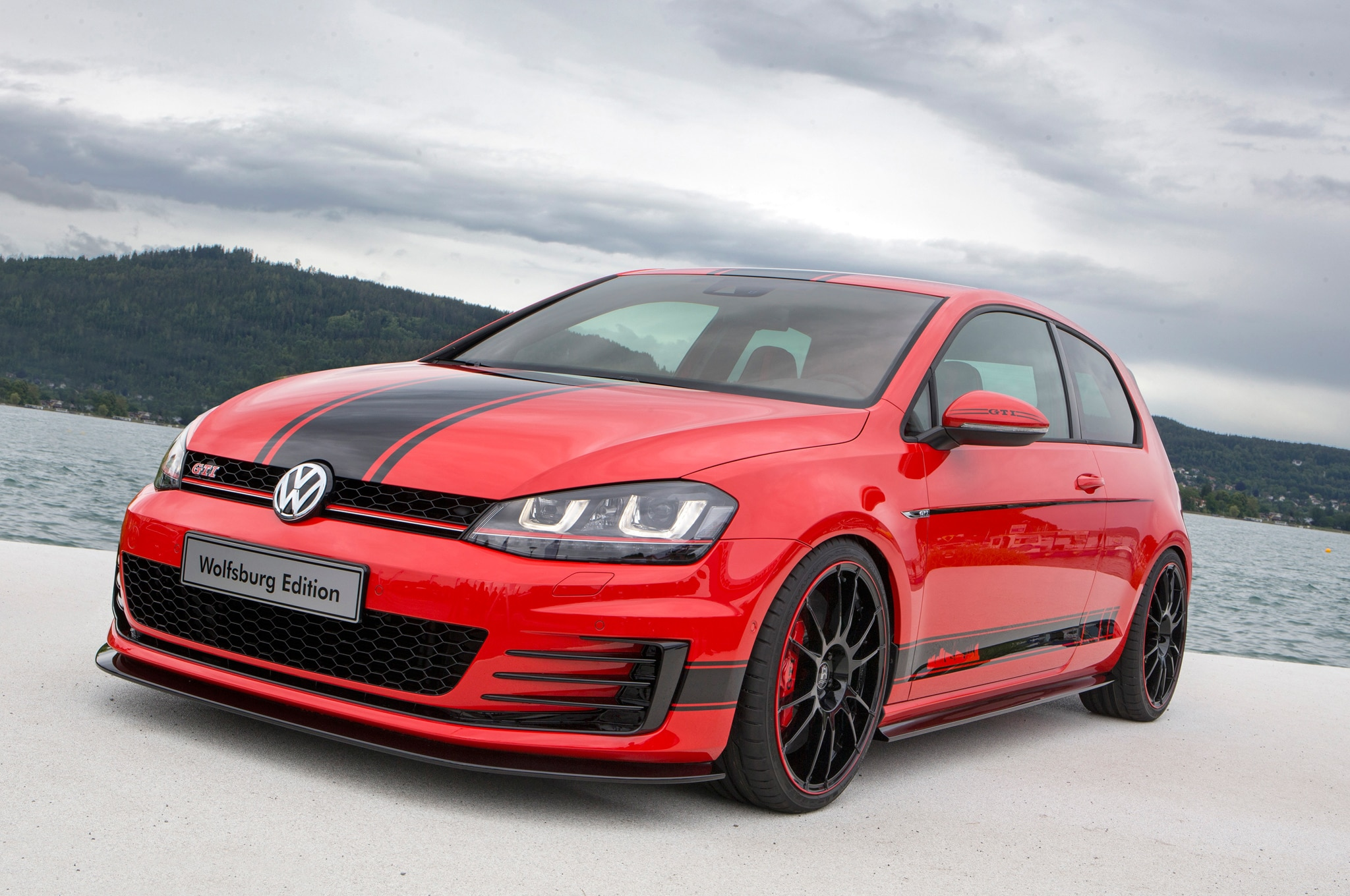 Volkswagen Golf GTI Wolfsburg Edition Front Three Quarter