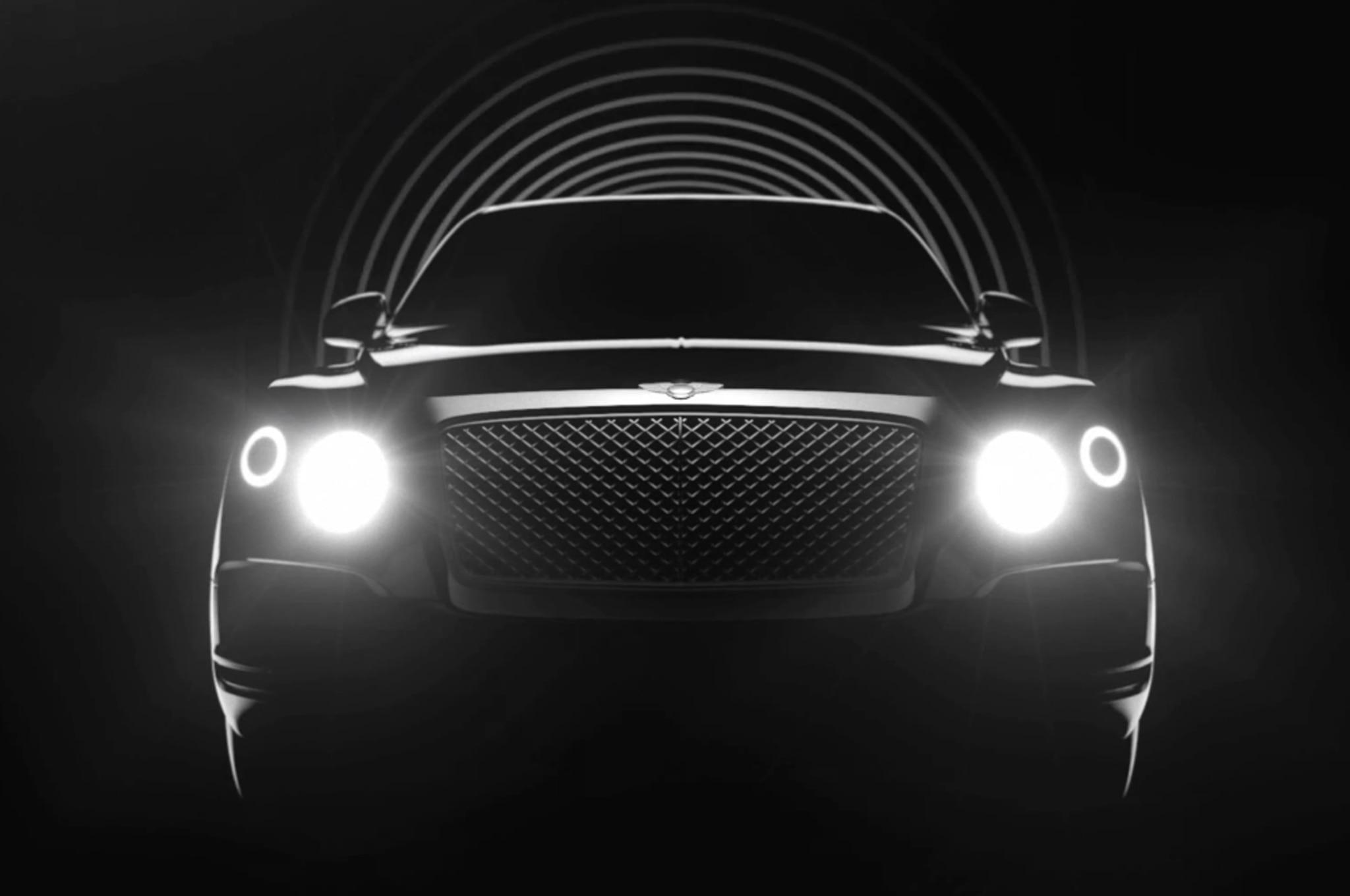 Bentley Suv Teaser Video 011
