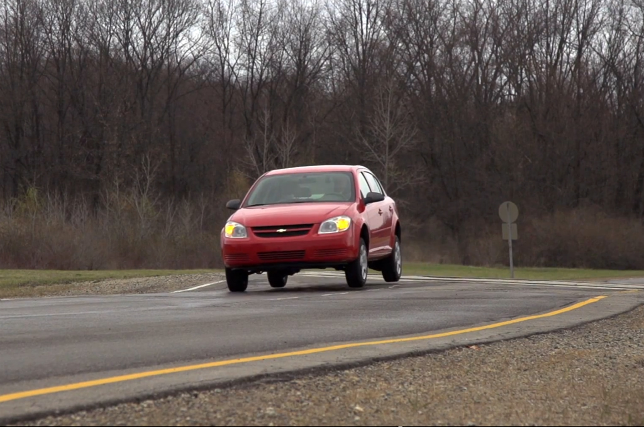 Chevrolet Cobalt Jumping Test Video
