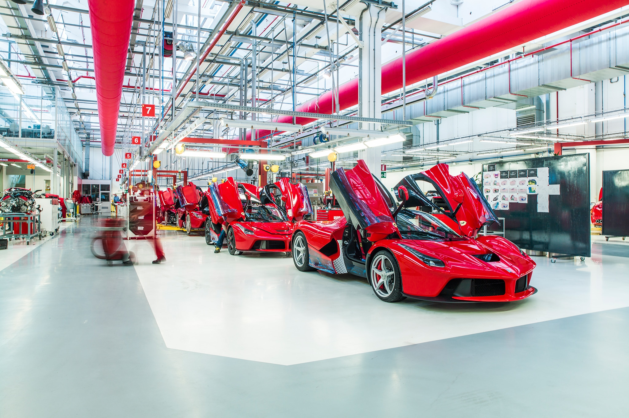 Building The Ferrari Laferrari Automobile Magazine
