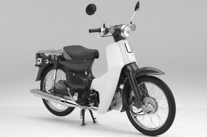 Honda Super Cub Scooter 660x438