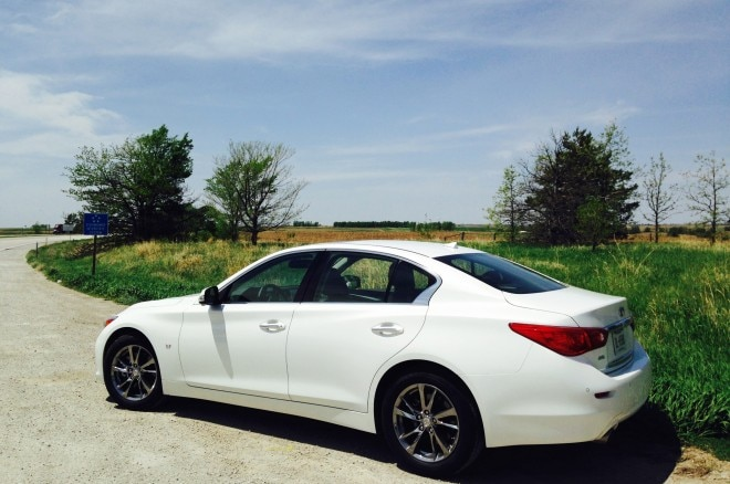 Memorial Day 2014 Infiniti Q50 Rear Three Quarter