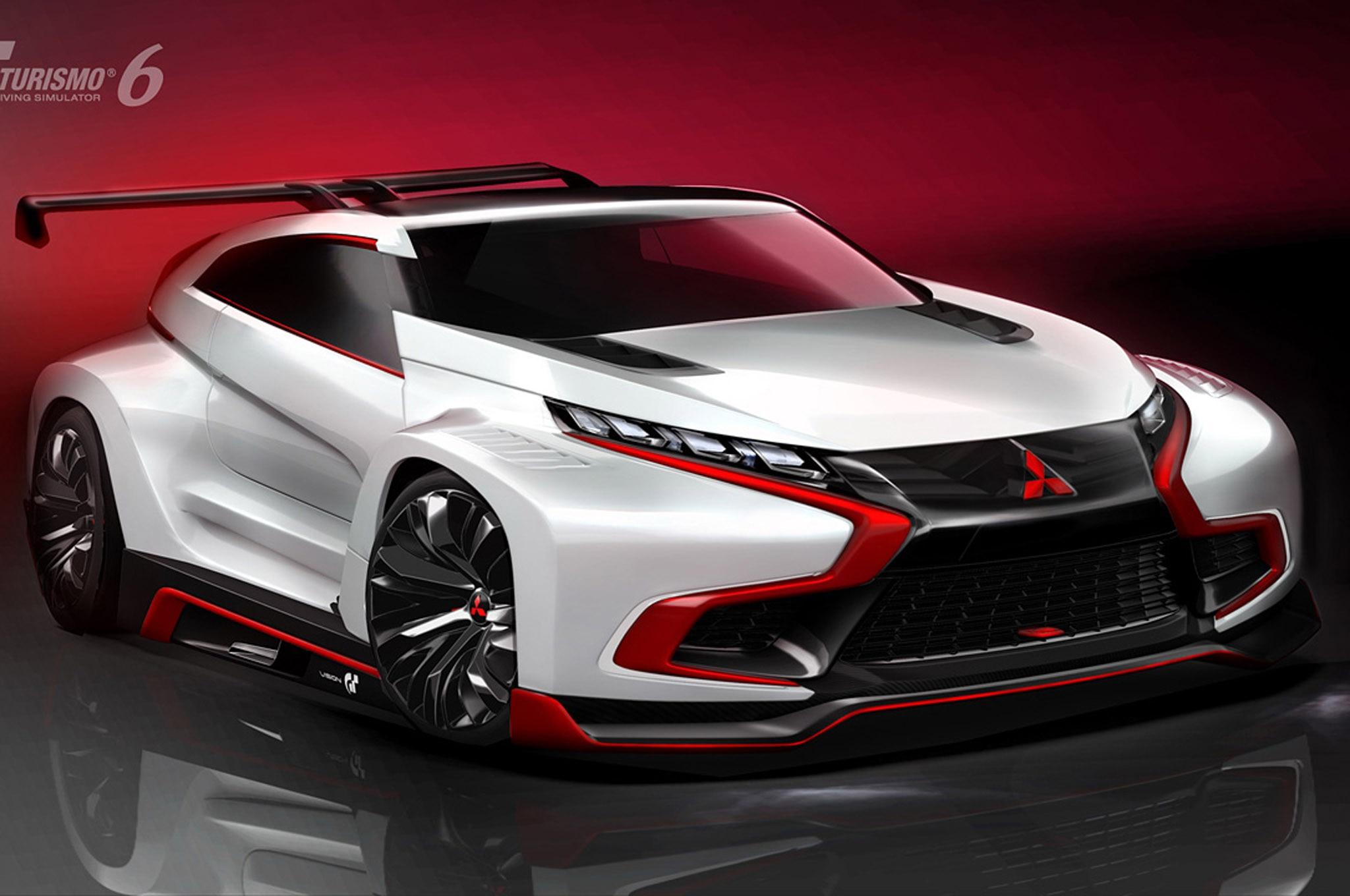Mitsubishi Xr Phev Gran Turismo Concept Front Three Quarters 021