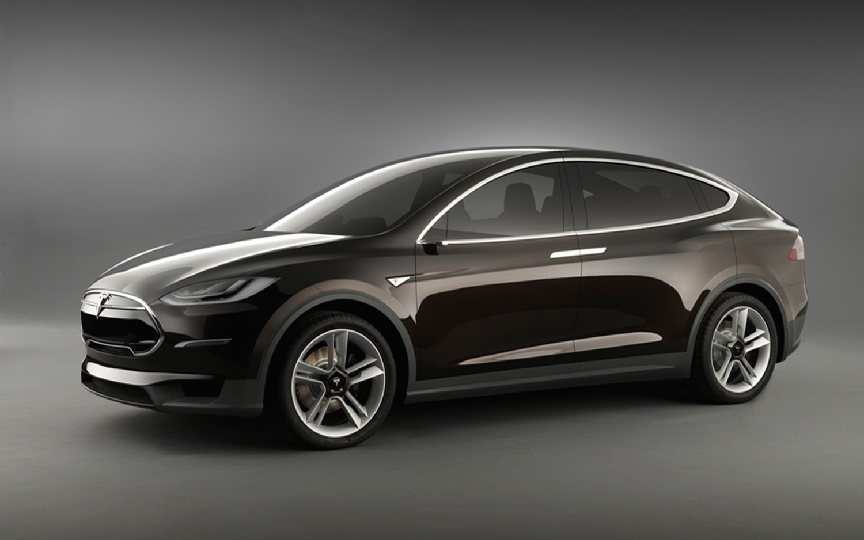 Tesla Model X Prototype Front Left Side View 21