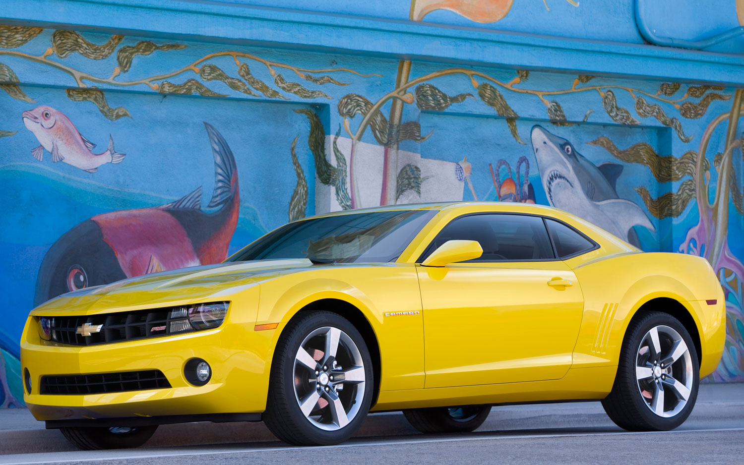2012 Chevrolet Camaro Front Side View1