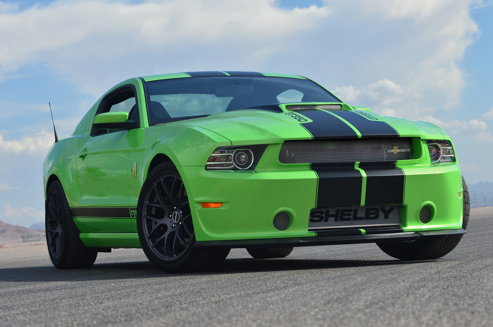 2013 Shelby Gt350 Prototype Green1