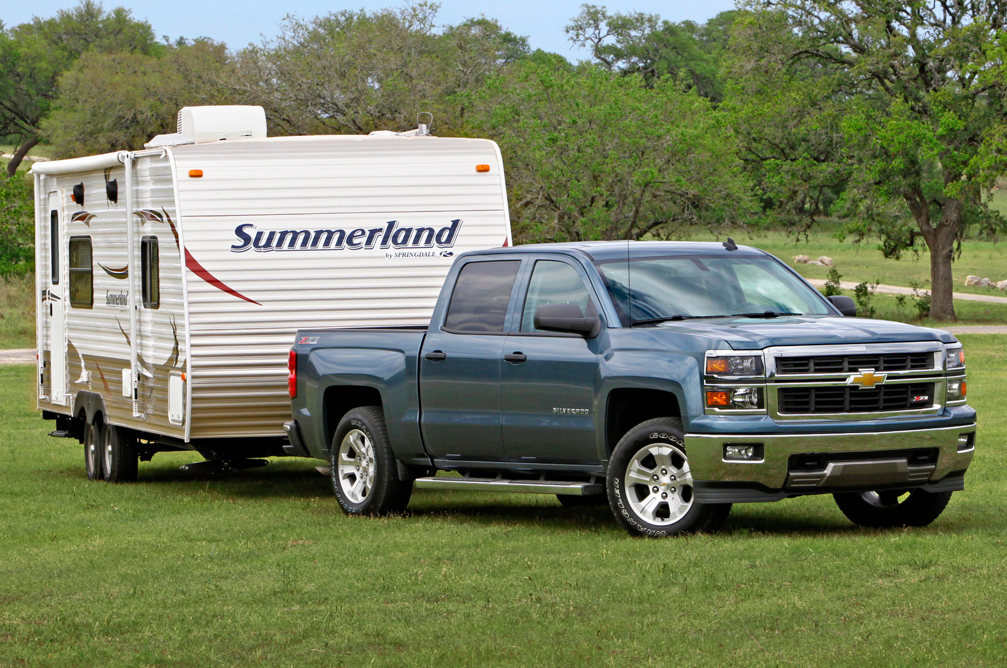 2014 Chevrolet Silverado V 6 Towing1