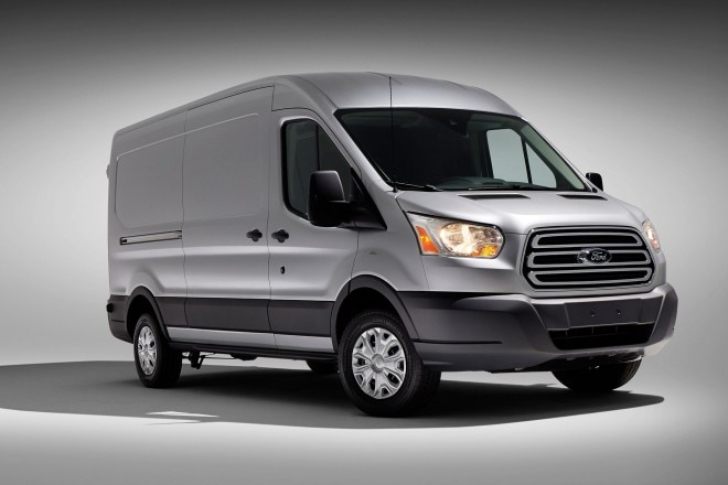 2014 Ford Transit Three Quarters View1 660x440
