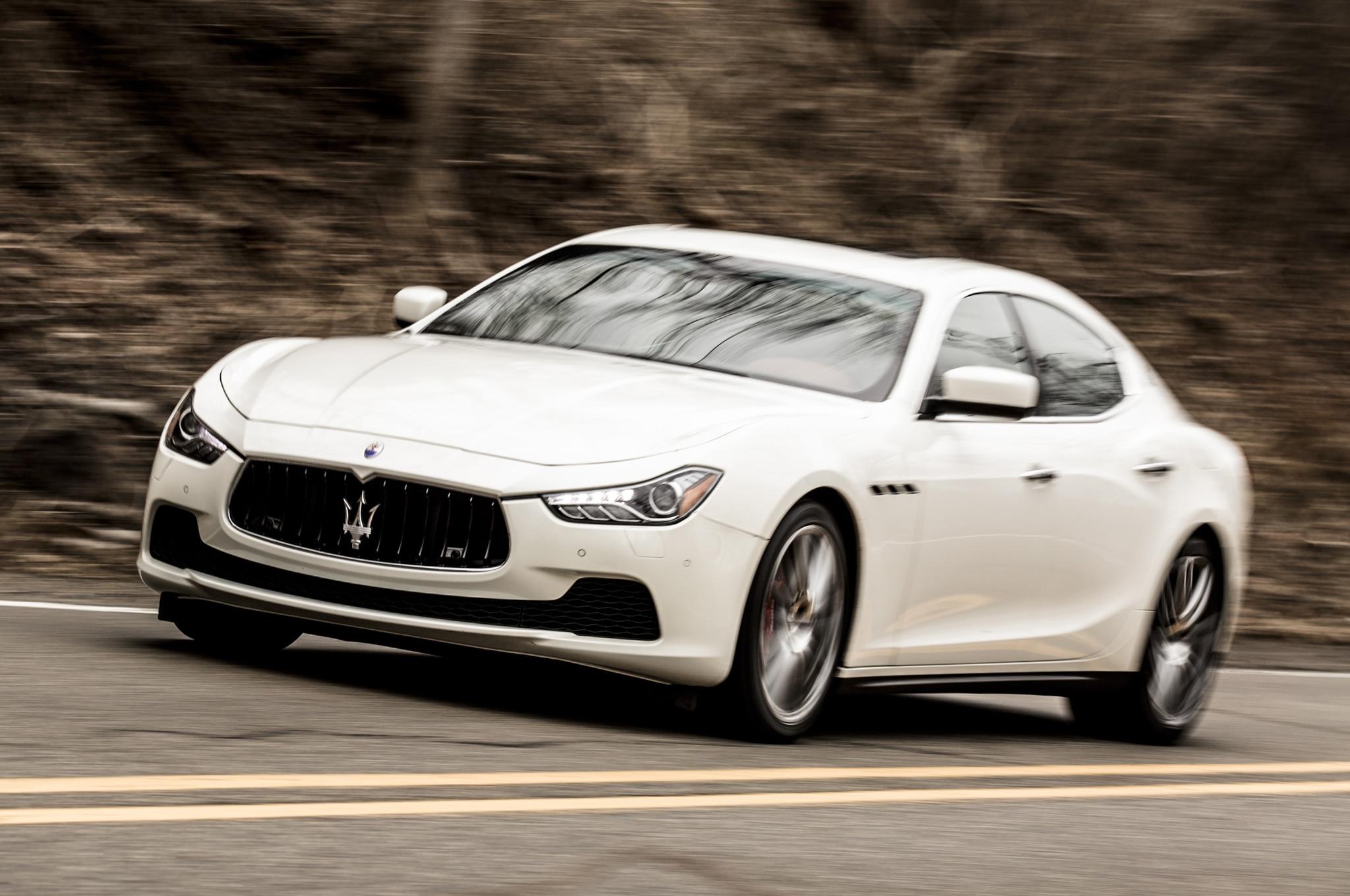 2014 Maserati Ghibli S Q4 In Motion