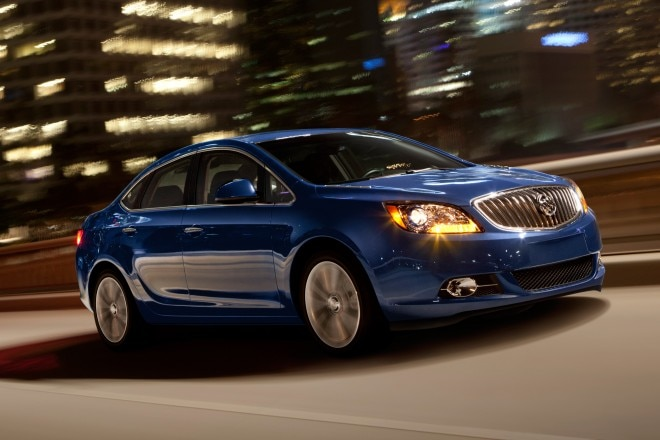 2014 Buick Verano Turbo Three Quarters View 51 660x440
