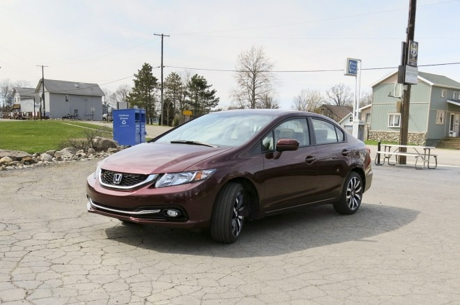 2014 Honda Civic Front Three Quarters
