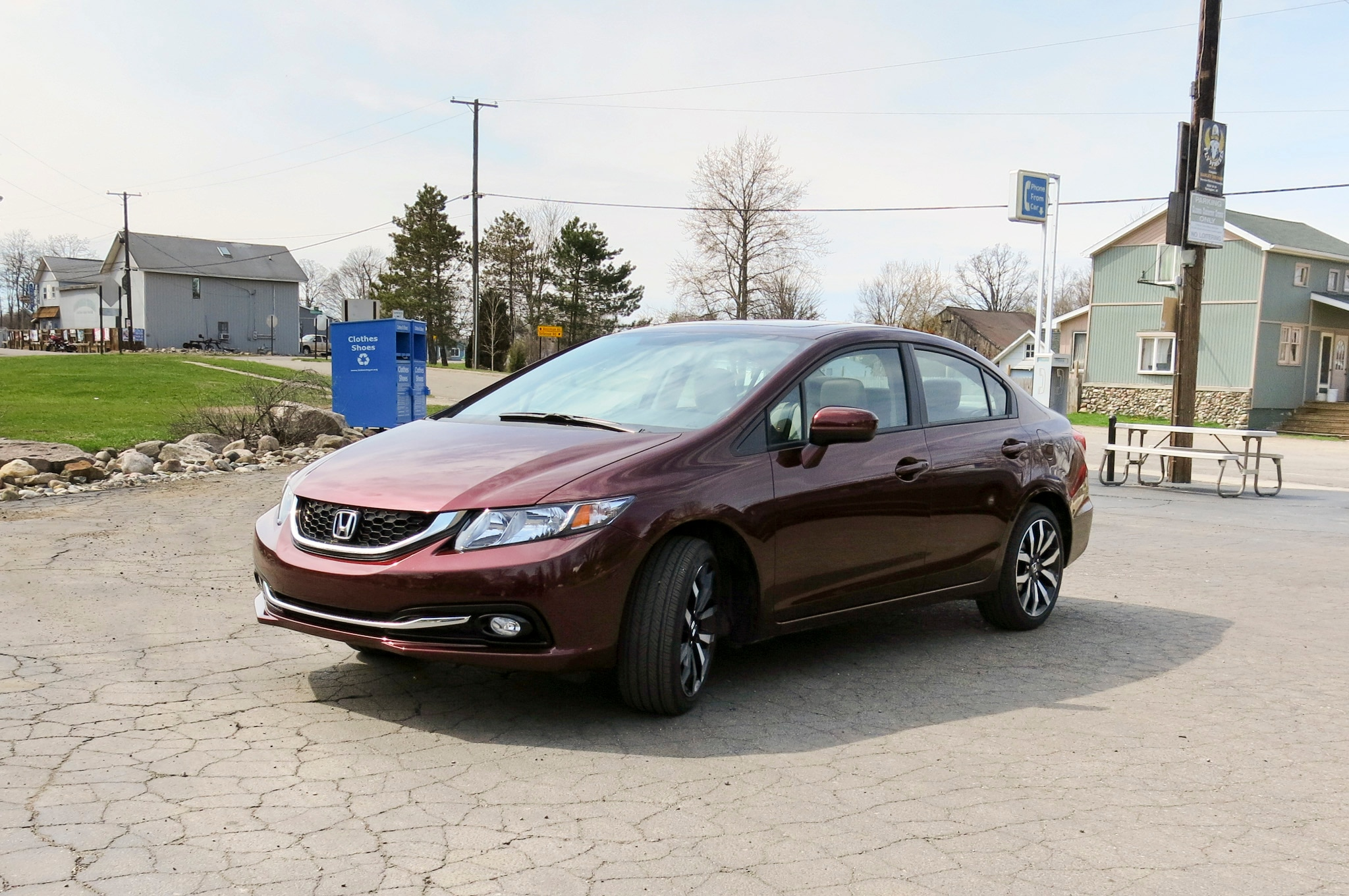 2014 Honda Civic Front Three Quarters