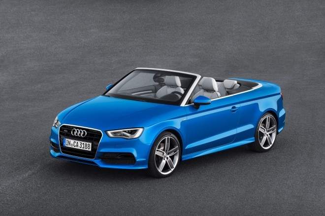 2015 Audi A3 Cabriolet Front Three Quarter1 660x438