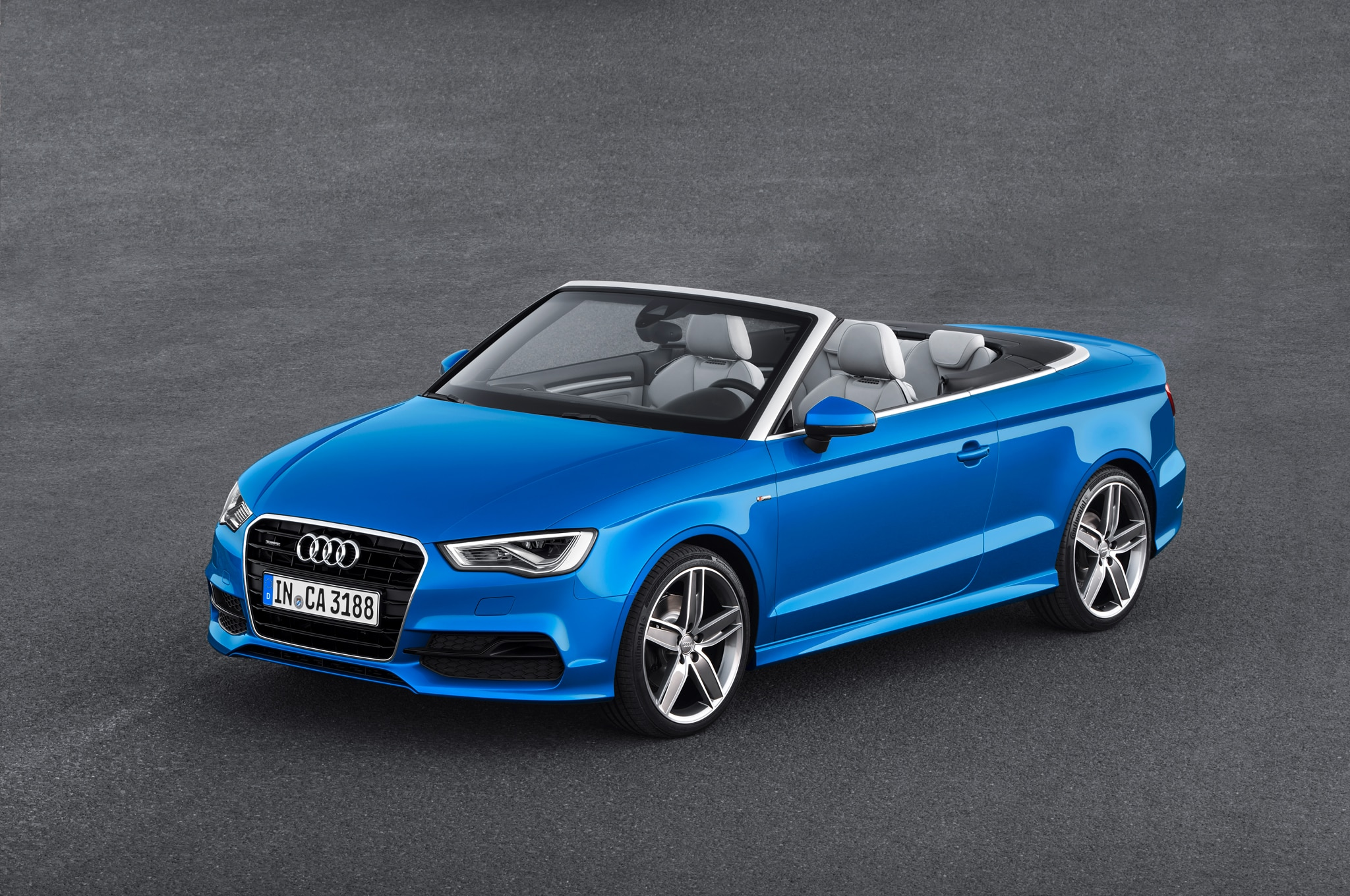 2015 Audi A3 Cabriolet Front Three Quarter1