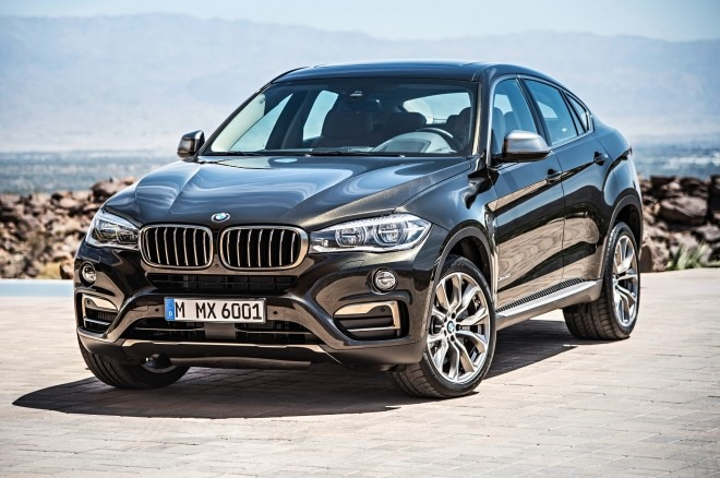 2015 BMW X6 Front Side View Wheel Turned1 660x438