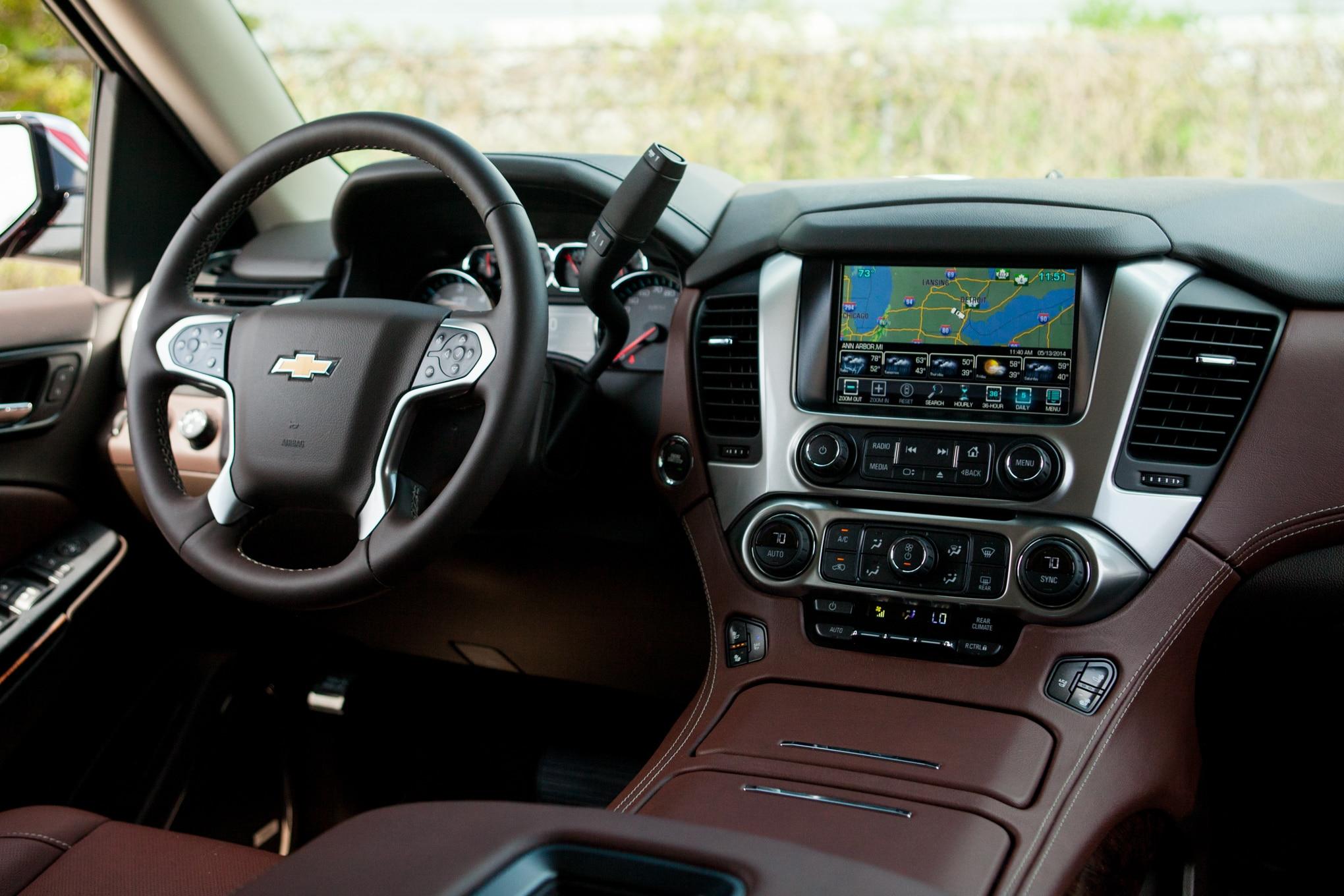 Delightful 2015 Chevrolet Tahoe 4wd Ltz Around The Block Automobile Magazine