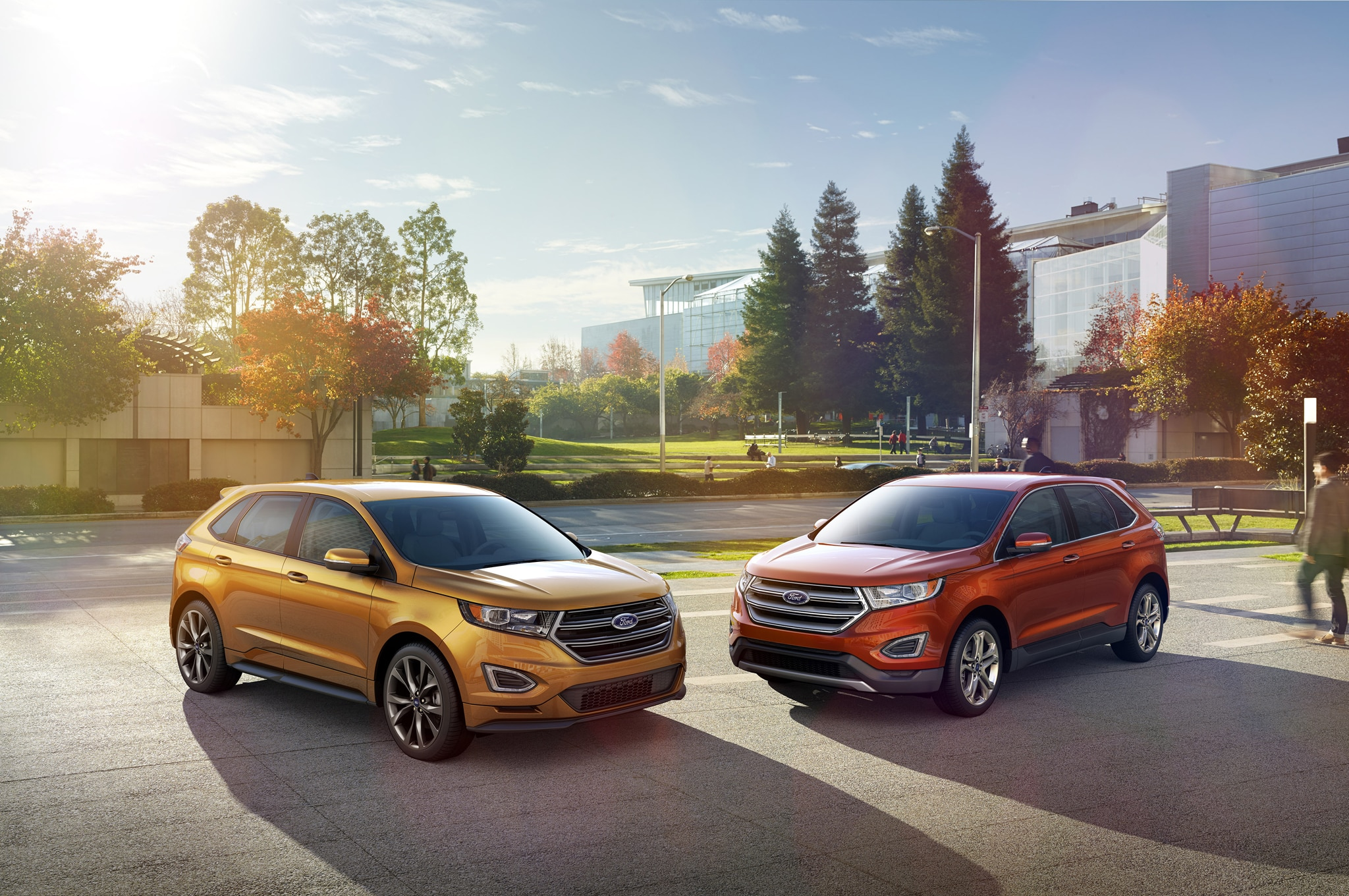 2015 Ford Edge Front Three Quarter