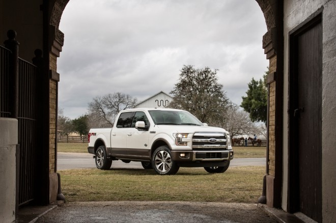 2015 Ford King Ranch F 150 Front 660x438
