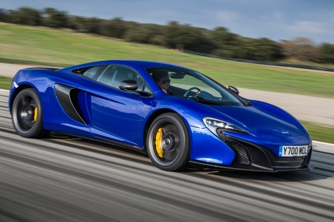 2015 Mclaren 650S Coupe Side In Motion 041 660x438