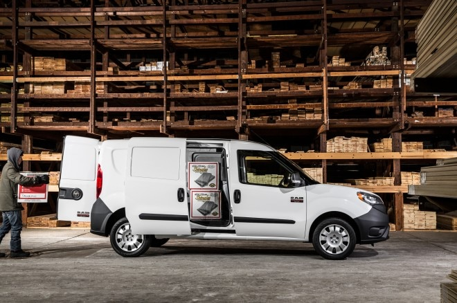 2015 Ram ProMaster City Side Sliding Door Loading3 660x438