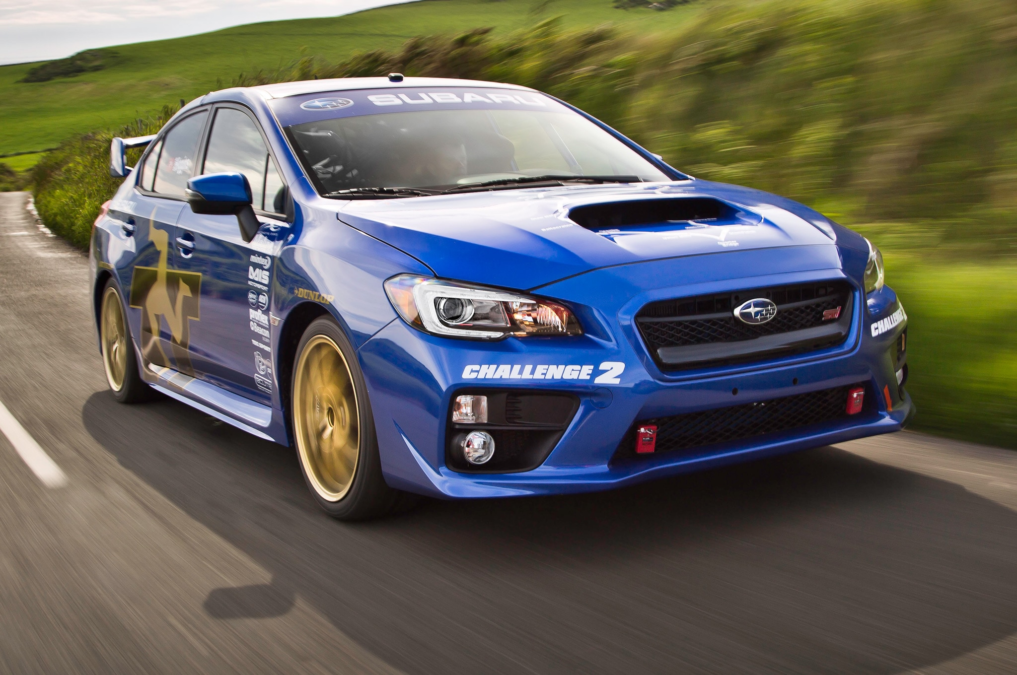 2015 subaru wrx sti breaks isle of man record again automobile. Black Bedroom Furniture Sets. Home Design Ideas