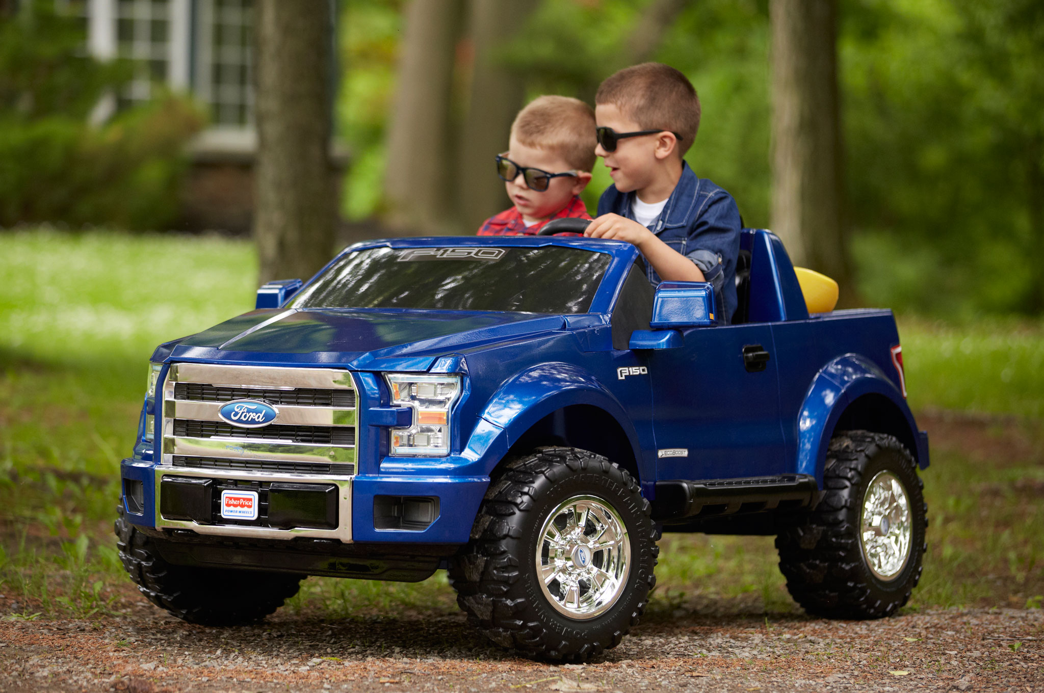 2015 ford f 150 power wheels front angle