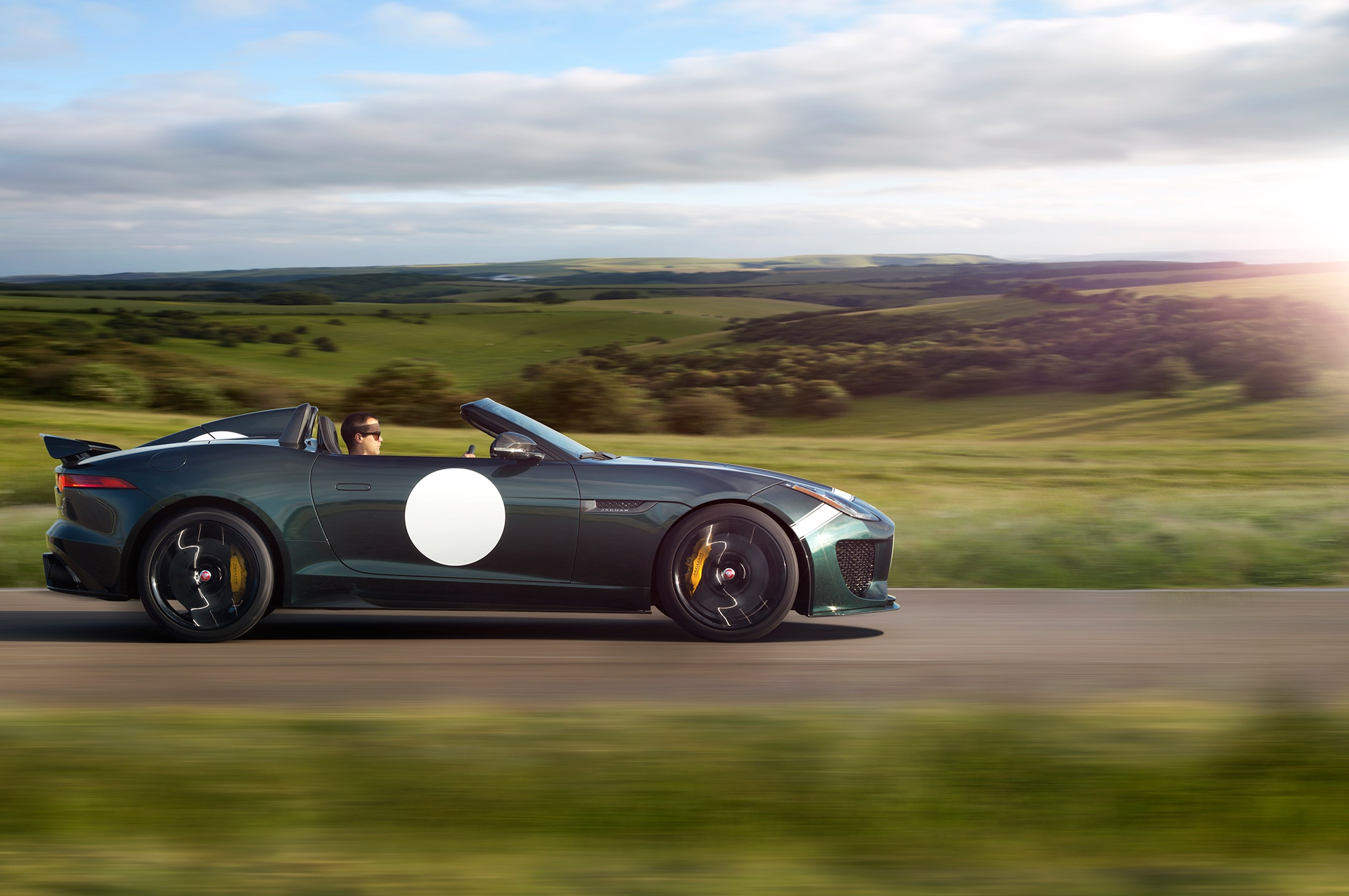 2015 Jaguar F Type Project 7 Profile Motion Road
