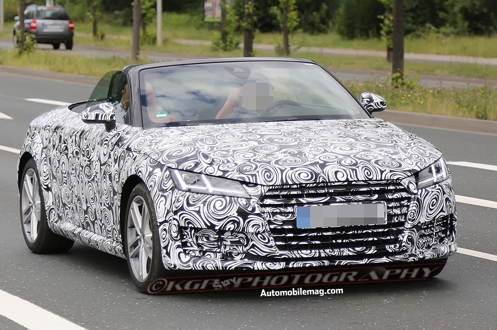 2016 Audi Tt Roadster Spied 12 Front Three Quarter1