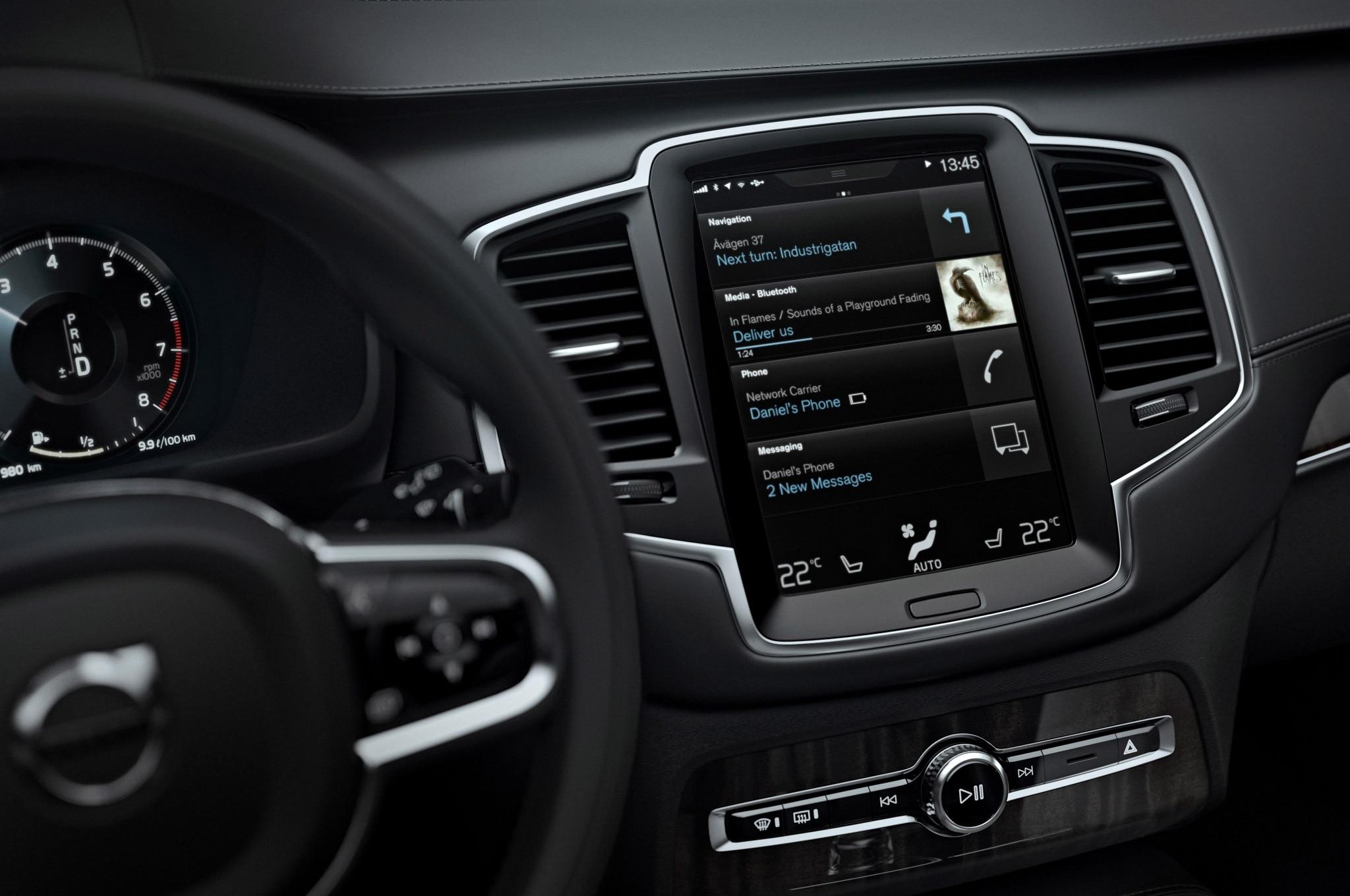 2016Volvo XC90 Android Auto 1