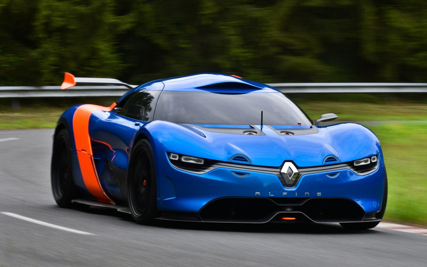 Alpine Renault A110 50 Concept Front Three Quarter View1