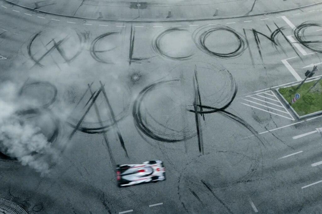 Audi R18 E Tron Quattro Burnout1