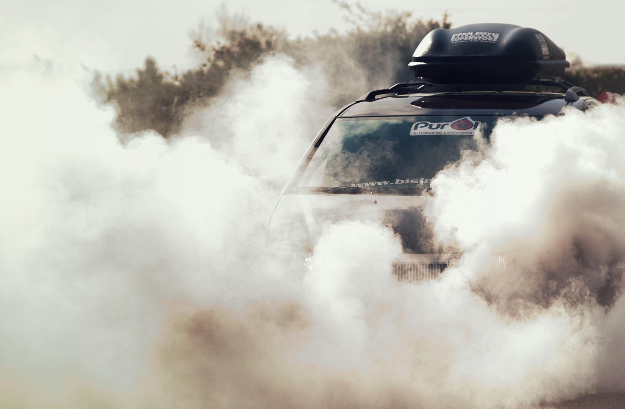 Bisimoto Honda Odyssey Burnout 01
