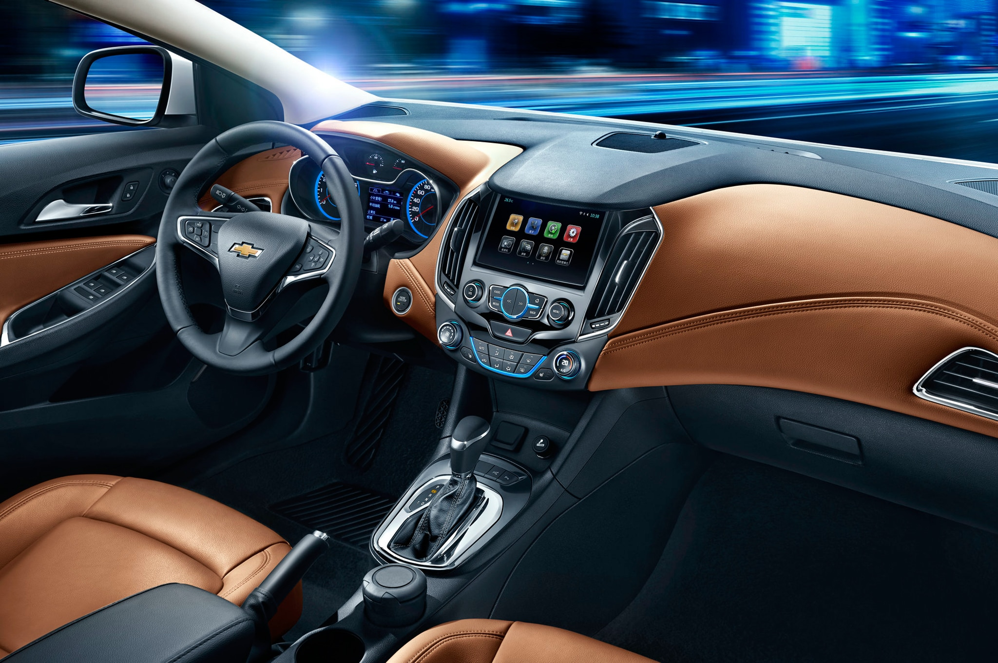Next Gen Chevrolet Cruze Chinese Spec Interior1