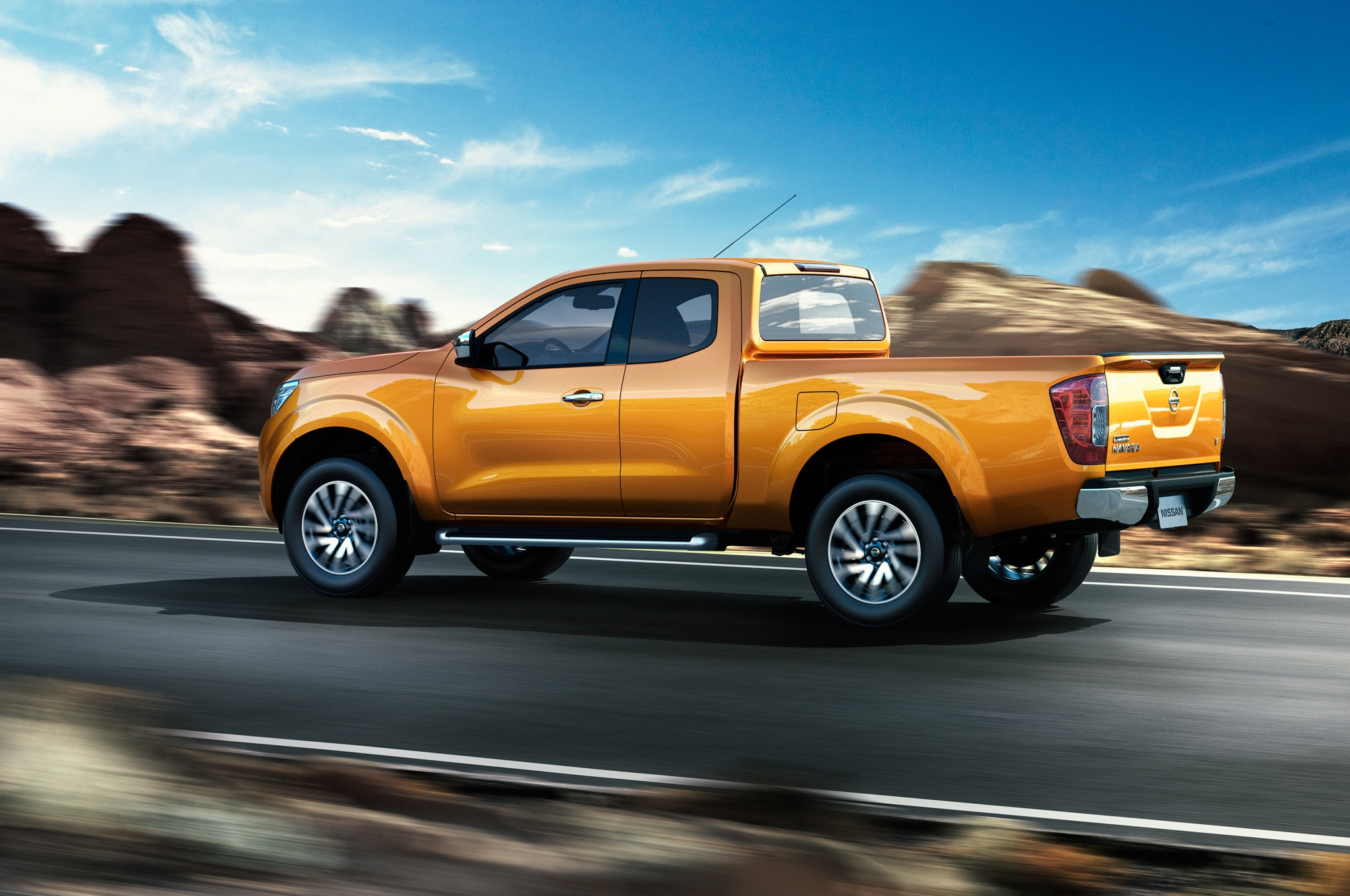 nissan navara pickup redesigned frontier to be different automobile. Black Bedroom Furniture Sets. Home Design Ideas