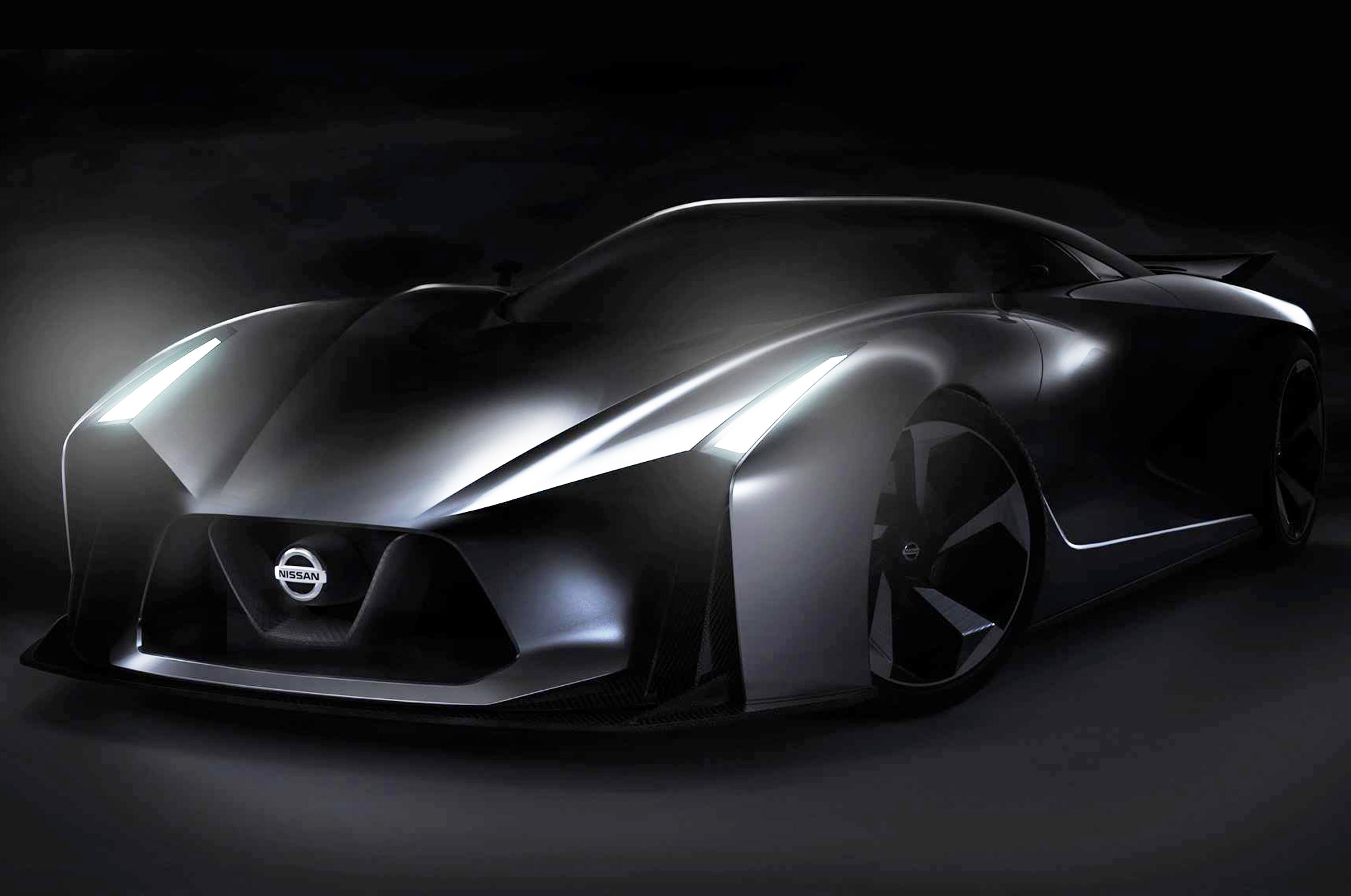 Nissan Race Car Teaser Front Three Quarters