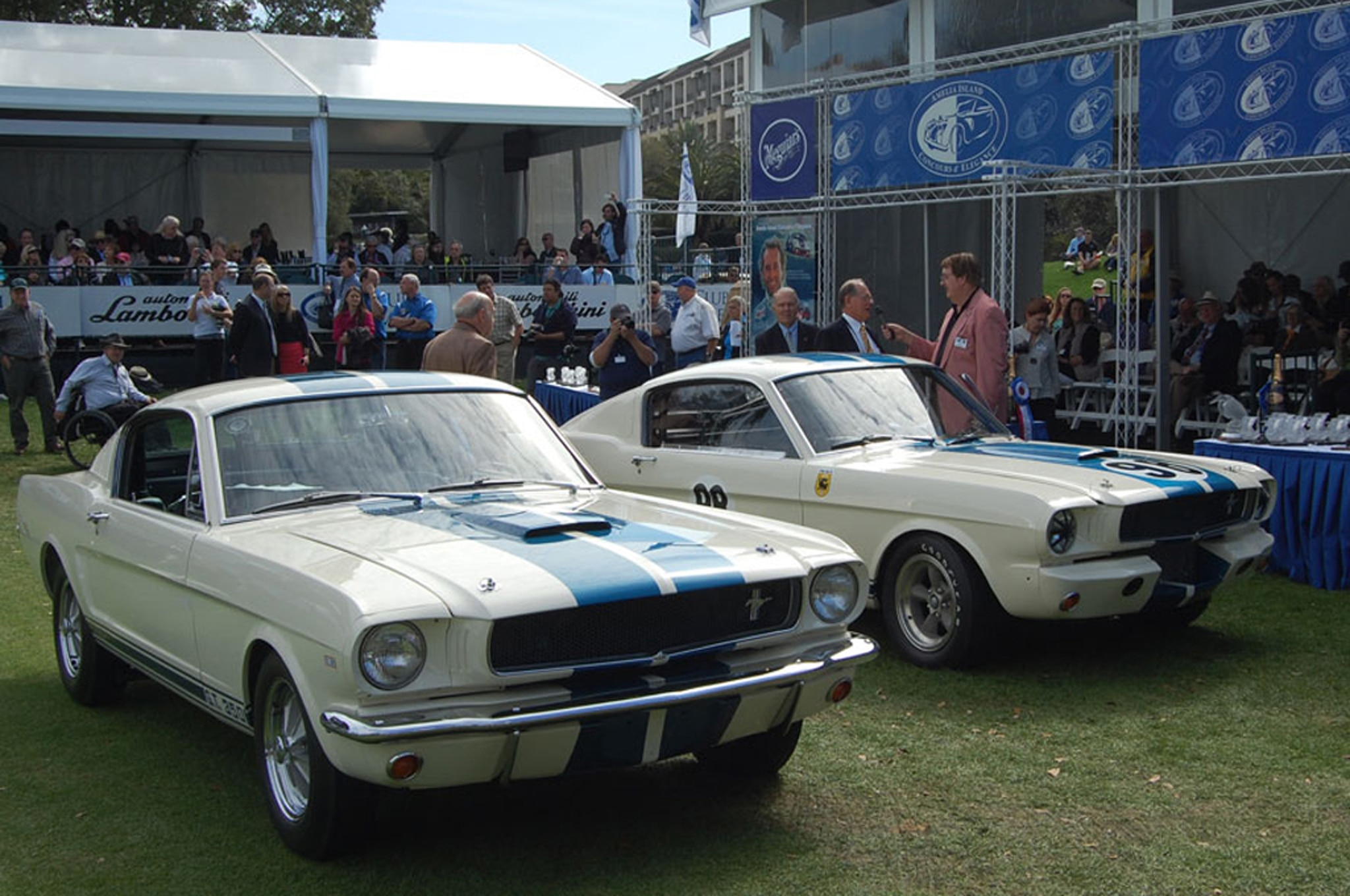 Retored 1965 Ford Shelby GT350 5R002 And 5S0031