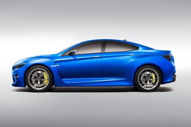 Subaru WRX Concept Profile1 660x438