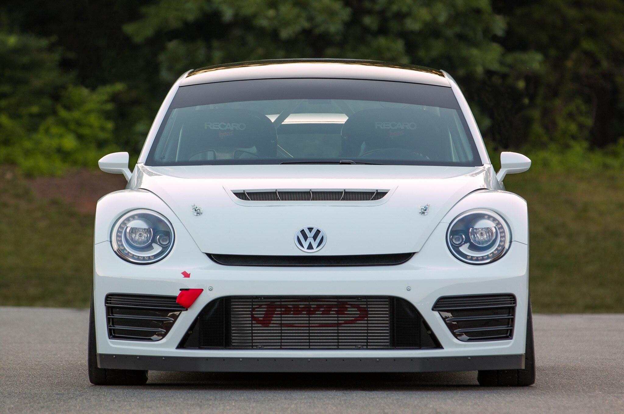 Volkswagen Beetle GRC Racecar Front View1