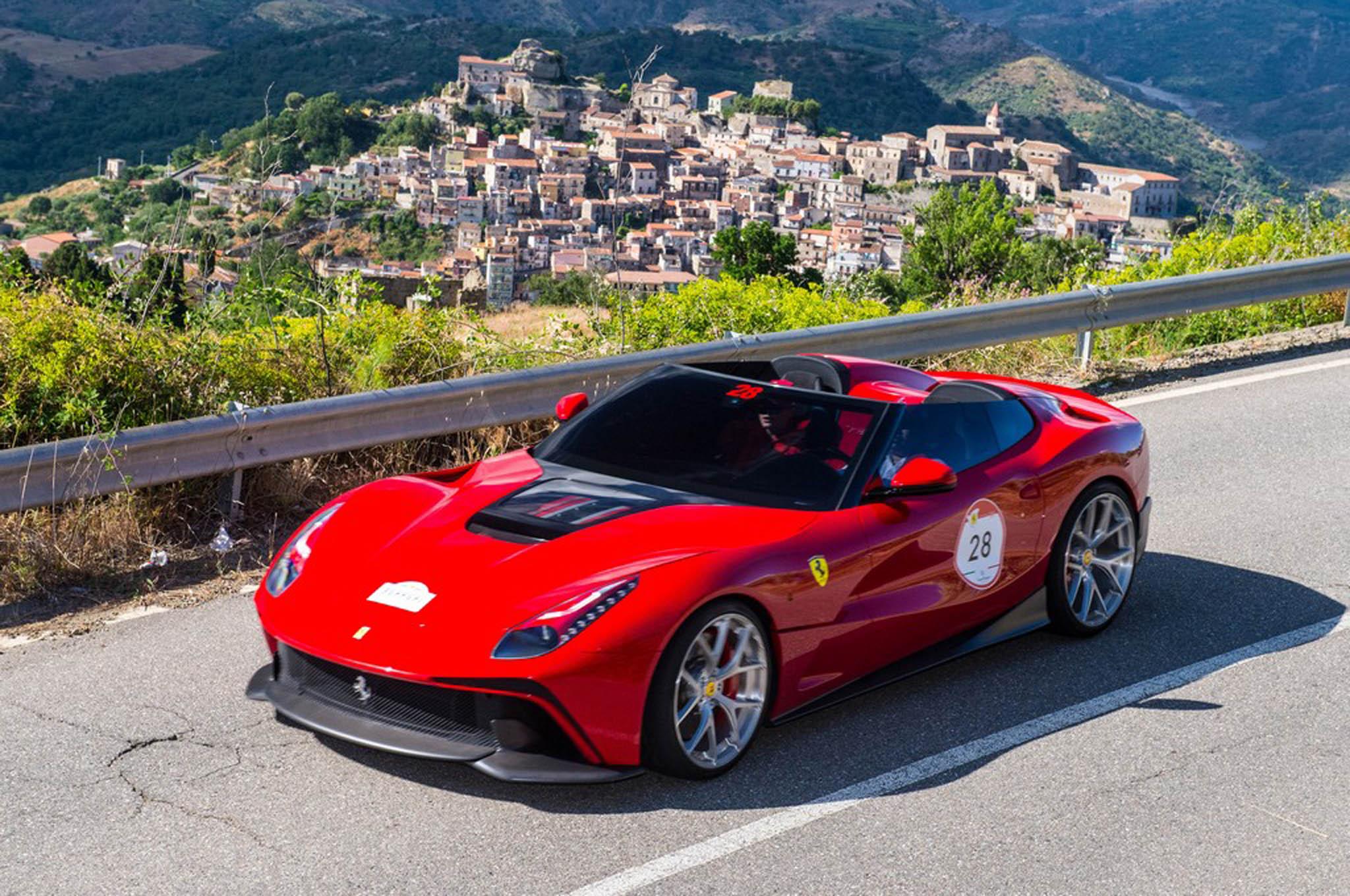 Ferrari F12 Trs In Motion