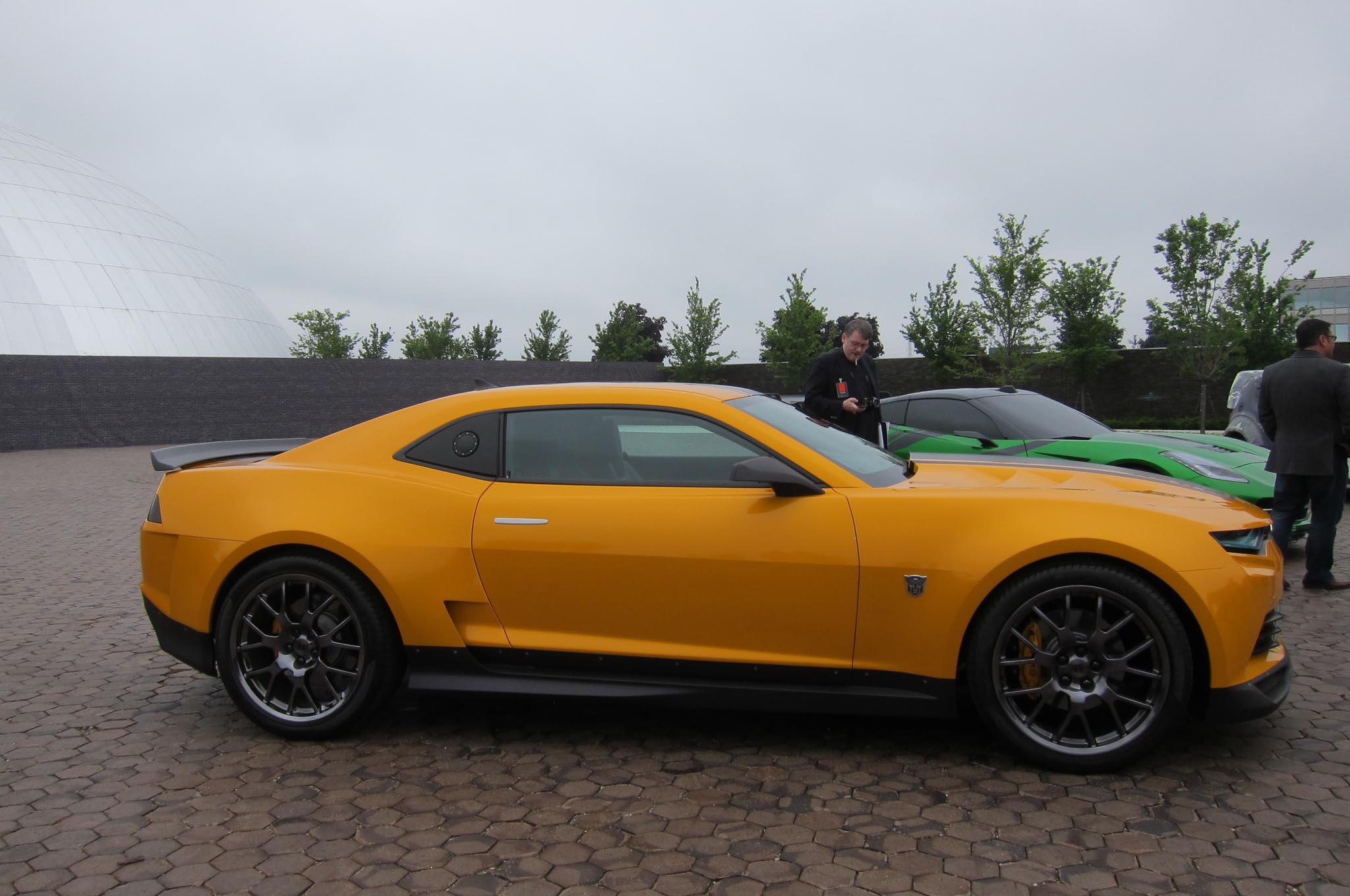 Gm Design Shows Off Transformers 4 Movie Cars Automobile