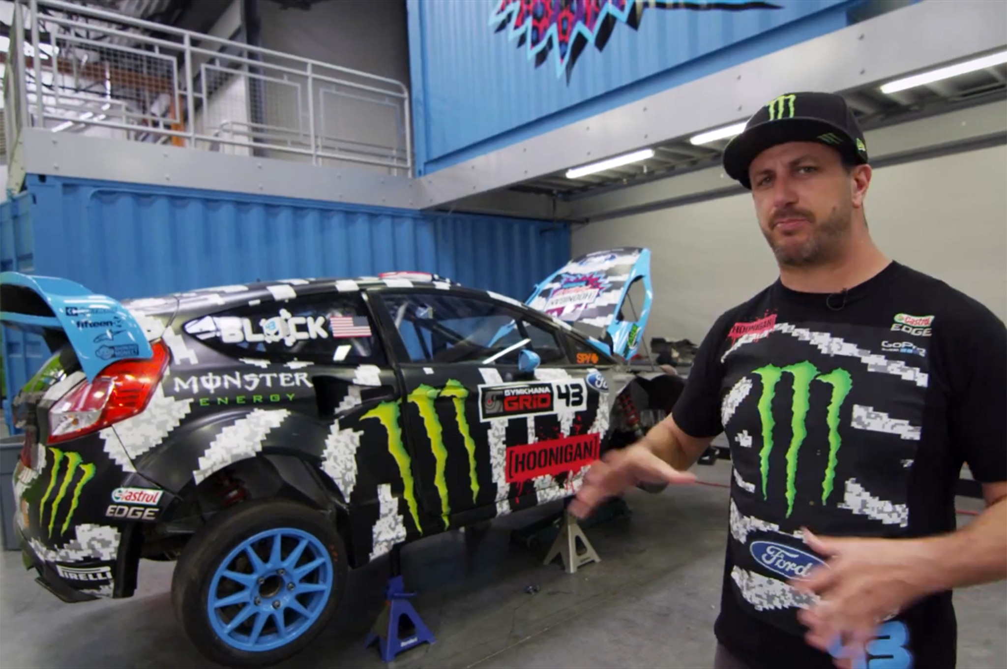Ken Block Hoonigan Racing Tour 11