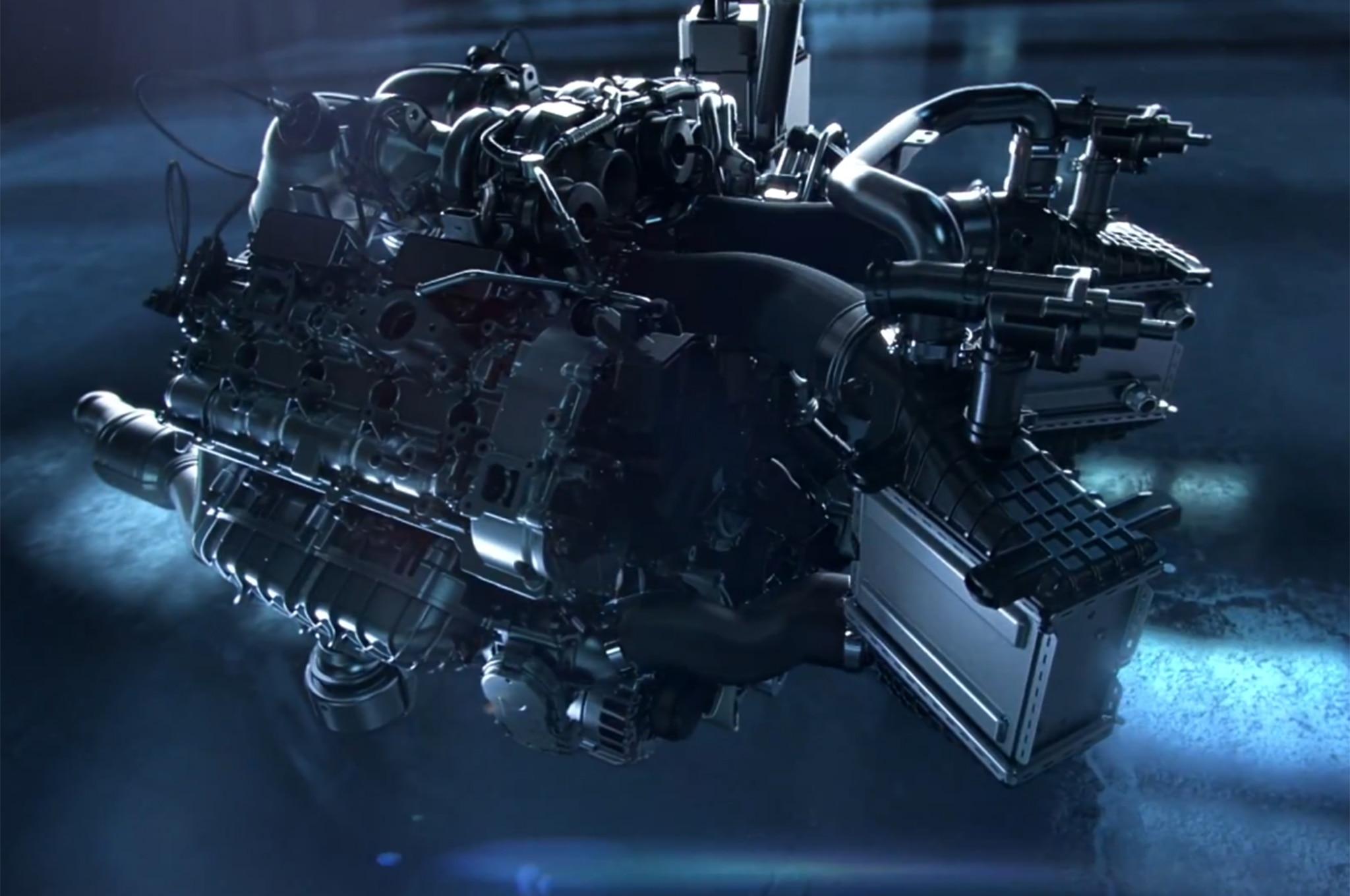Mercedes Benz Amg Gt Engine 31