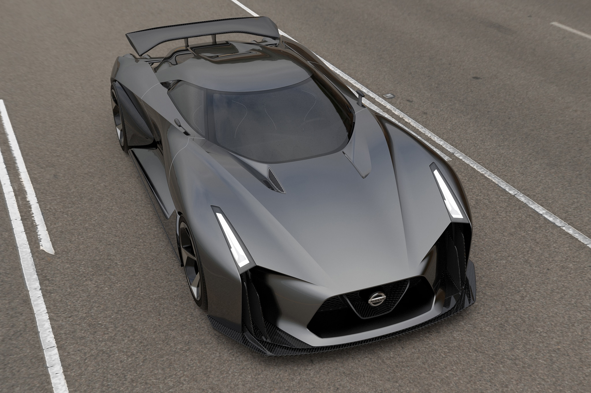Nissan Concept 2020 Vision Gt Front Three Quarter Above1