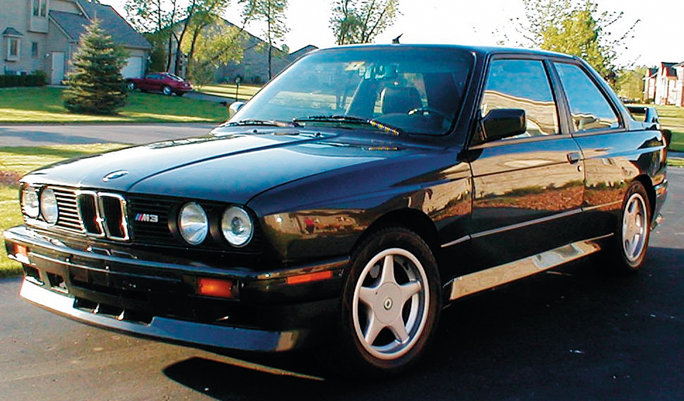 1990 Bmw M3 Ls3 Three Quarter